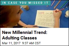 Millennials Taking Classes on How to Be Grown-Ups