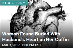 He Died in 1649, but His Heart Didn't Leave Her Side