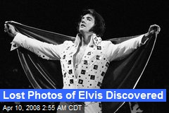 Lost Photos of Elvis Discovered