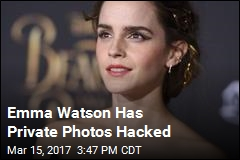Emma Watson Has Private Photos Hacked
