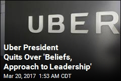 Uber Loses Another Top Exec