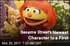 Autistic Muppet Joins Sesame Street