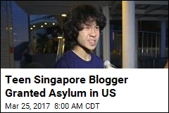 Teen Singapore Blogger Granted Asylum in US