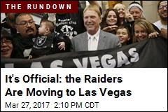 It's Official: the Raiders Are Moving to Las Vegas