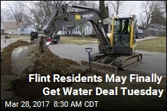 Flint Residents May Finally Get Water Deal Tuesday