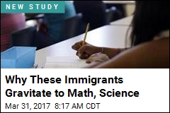 Why These Immigrants Gravitate to Math, Science