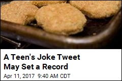Teen Closes In on Top Retweet in Quest for Chicken Nuggets