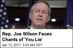 Rep. Joe Wilson Faces Chants of 'You Lie'