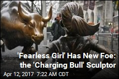 Guy Behind NYC's 'Charging Bull' Not Into 'Fearless Girl'