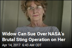 Widow Can Sue Over NASA's Brutal Sting Operation on Her