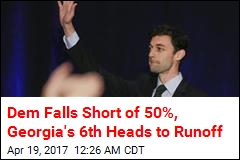 Georgia Special Election Headed to Runoff