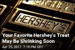 Hershey's Vows to Cut Its Calories by 2022