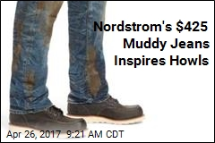 Nordstrom's $425 Muddy Jeans Inspires Howls