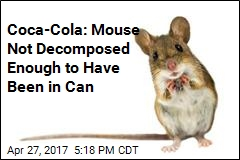 Man Claims He Found Mouse in Coca-Cola Can