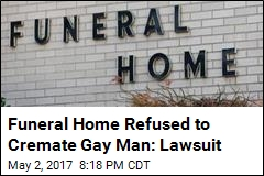 Funeral Home Denies Refusing Gay Man's Cremation