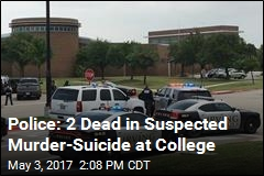 Police: 2 Dead in Suspected Murder-Suicide at College