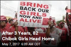 After 3 Years, 82 Chibok Girls Head Home