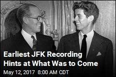 This Might Be Earliest Recording of JFK