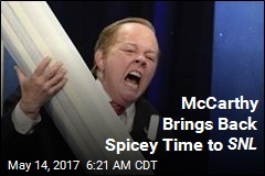 McCarthy Brings Back Spicey Time to SNL
