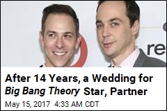 Big Bang Theory Star Marries Longtime Partner