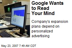 Google Wants to Read Your Mind