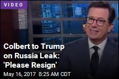 Late Night Takes on Russia Leak Story
