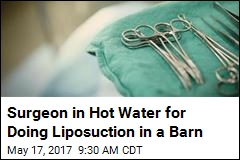 Cosmetic Surgeon Penalized for Working Out of a Barn