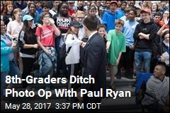 8th-Graders Ditch Photo Op With Paul Ryan