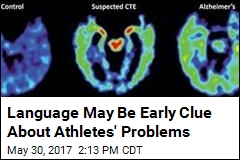 Language May Be Early Clue About Athletes' Problems