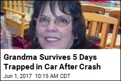 Grandma Survives 5 Days Trapped in Car After Crash