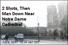 Man Attacks Cop With Hammer at Notre Dame Cathedral: Report