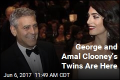 George and Amal Clooney's Twins Are Here