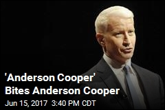 'Anderson Cooper' Bites Guy He's Named After