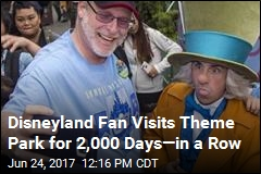 Disneyland Fan Visits Theme Park for 2,000 Days—in a Row