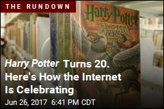 Harry Potter Celebrates 20 Years