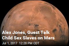 NASA: There Are No Child Sex Slaves on Mars
