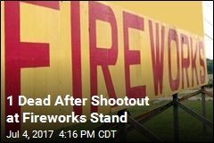 1 Dead After Shootout at Fireworks Stand