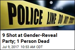 9 Shot at Gender-Reveal Party; 1 Person Dead