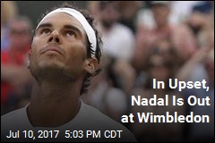 In Upset, Nadal Is Out at Wimbledon