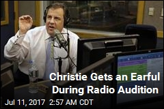 Chris Christie Slams 'Communist' Caller in Radio Audition