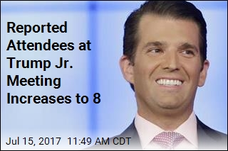 Reported Attendees at Trump Jr. Meeting Increases to 8