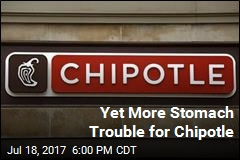 Yet More Stomach Trouble for Chipotle
