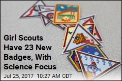 Girl Scouts Have 23 New Badges, With Science Focus