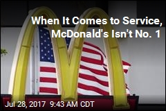 When It Comes to Service, McDonald's Isn't No. 1