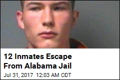 12 Inmates Escape From Alabama Jail