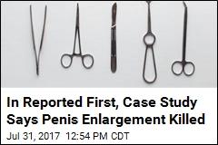 In Reported First, Case Study Says Penis Enlargement Killed
