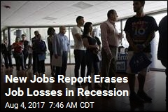 Unemployment Rate Ties 16-Year Low