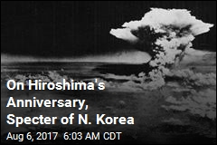 On Anniversary of Hiroshima, N. Korea Looms