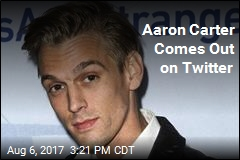 Aaron Carter Comes Out on Twitter