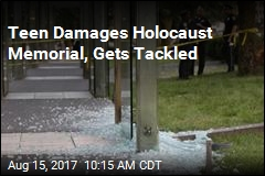 Boston's Holocaust Memorial Vandalized Again